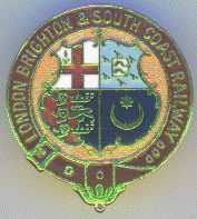 London Brighton & South Coast Railway Badge