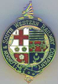 London & South Western Railway Badge