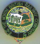 North British Railway Badge