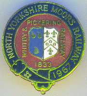 North Yorkshire Moors Railway Badge