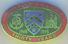 Severn Valley Railway Badge 30 Year Anniversary